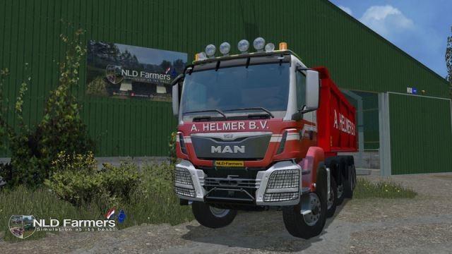 Грузовики для Мод грузовик MAN A Helmer B.V. v 1.0 Beta для Farming Simulator 2015