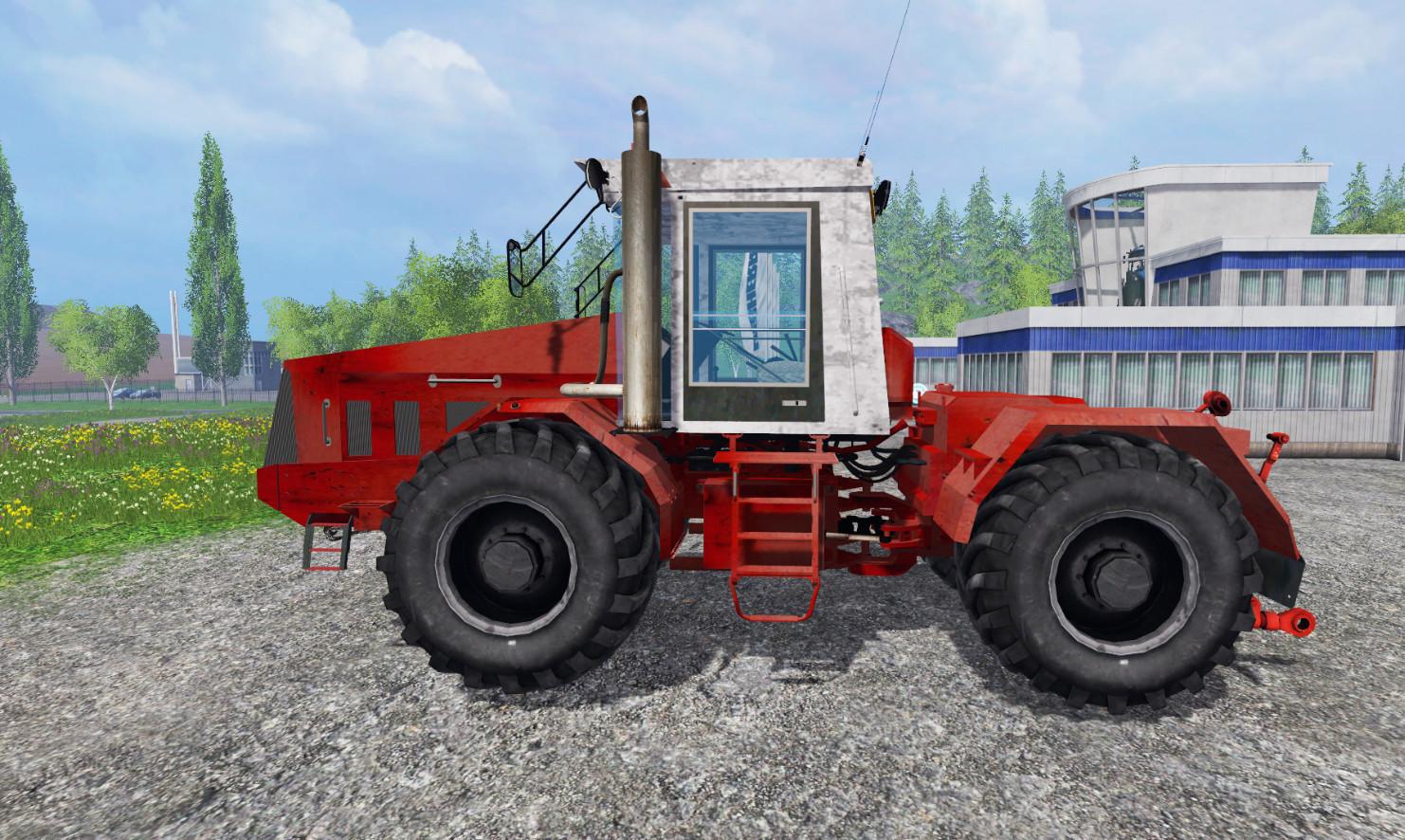 Русская техника для Мод трактор «К-744 P3 v 2.0» для Farming Simulator 2015