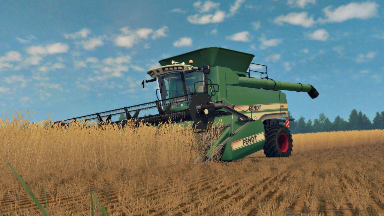 Комбайны для Мод комбайн FENDT 9460R v 2.0 для Farming Simulator 2015