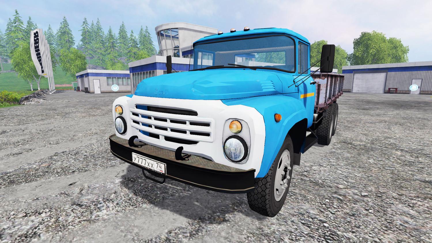 Русская техника для Мод грузовик ЗиЛ-133 для Farming Simulator 2015