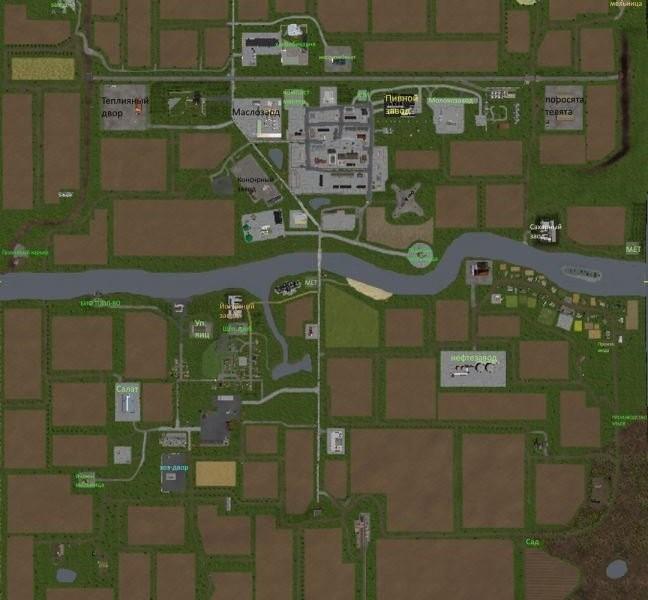 """Карты для Карта Ukraine v 1.0 BETA"""" для Farming Simulator 2015"""