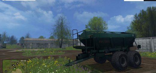 Техника для удобрений для Мод распределитель удобрений РУ-7000 v 1.0 для Farming Simulator 2015