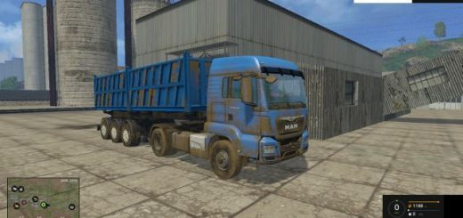Прицепы для Мод прицеп «Зерновоз v 1.0» для Farming Simulator 2015