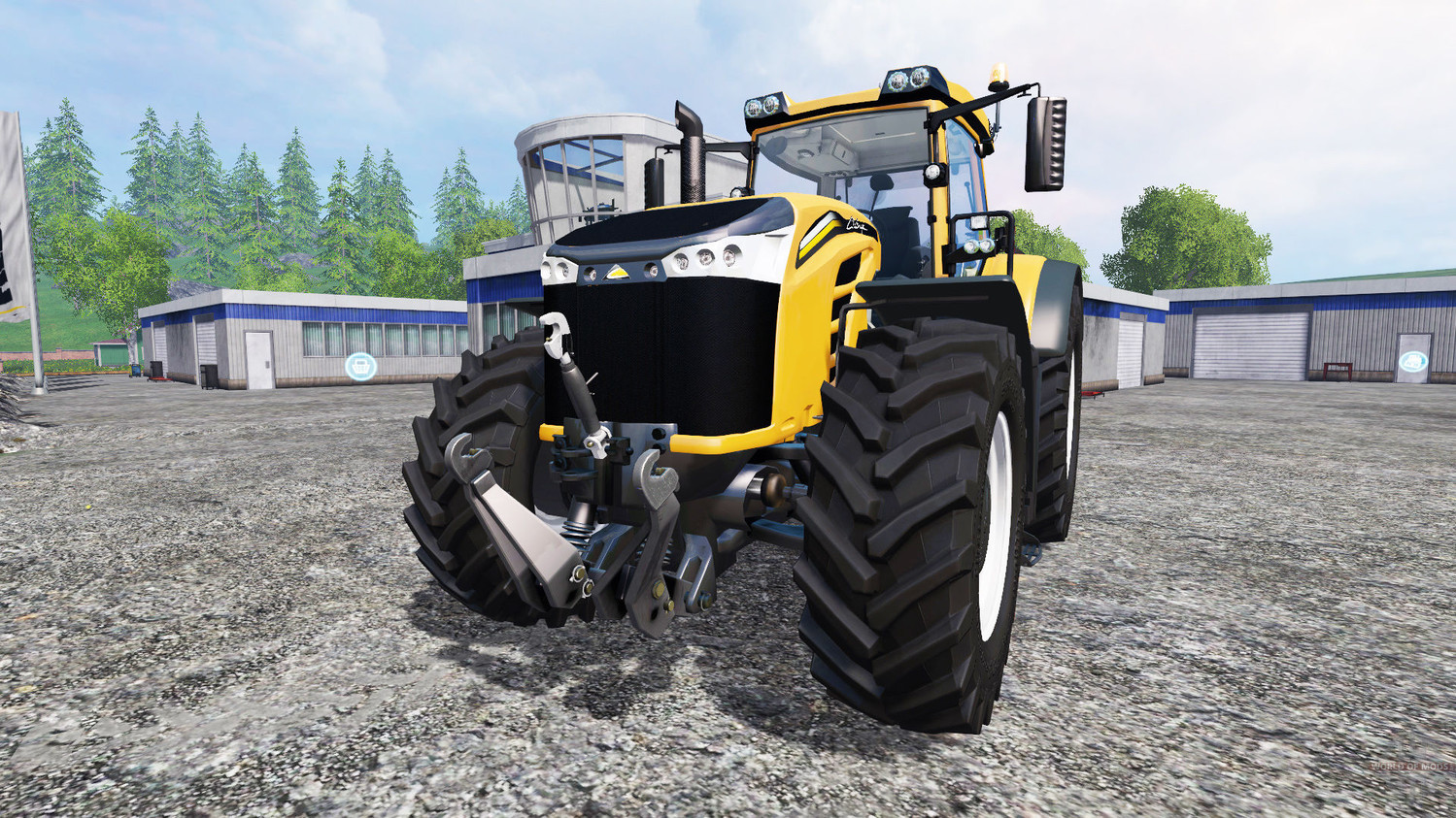 Тракторы для Мод трактор Challenger MT 1050 v1.1 для Farming Simulator 15