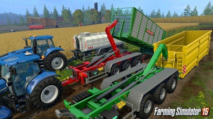 Прицепы для Мод пак прицепов ITRunner DLC для Farming Simulator 2015
