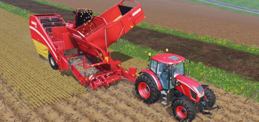 Комбайны для Мод комбайн Grimme SE 260 для Farming Simulator 15