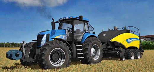 Тракторы для Мод трактор New Holland TG 285 final для Farming Simulator 2015