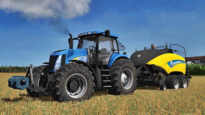 Тракторы для Мод трактор New Holland TG 285 final для Farming Simulator 2015