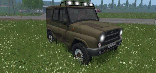 Русская техника для Мод машина «УАЗ Хантер» v 3.0 для Farming Simulator 2015