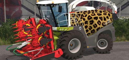 Комбайны для Мод комбайн Claas Jaguar 870 v 1.0 для Farming Simulator 2015