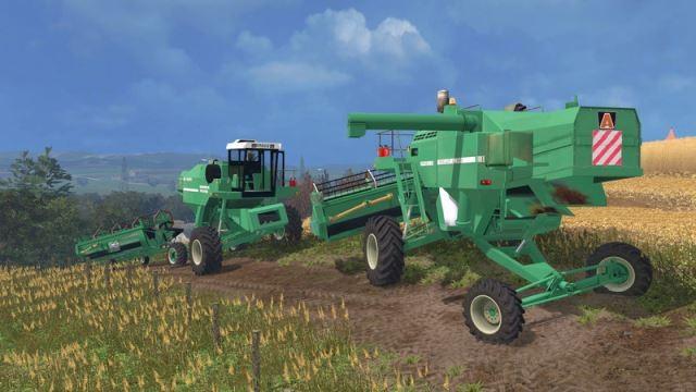 Комбайны для Мод-пак комбайнов Arbos v 1.1 для Farming Simulator 2015.