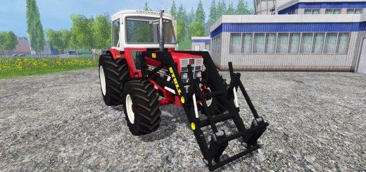 Тракторы для Мод трактор IHC 633 v2.0 для Farming Simulator 2015