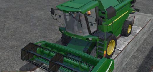Комбайны для Мод комбайн JohnDeere W330 v 1.2 для Farming Simulator 2015