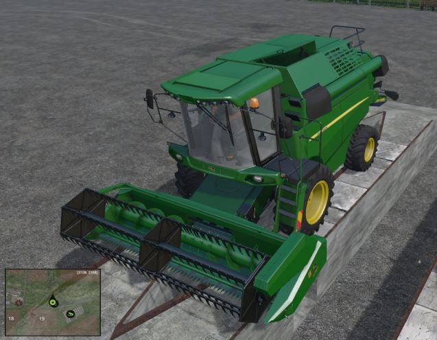 Комбайны для Мод комбайн JohnDeere W330 v 1.2 для Farming Simulator 2015