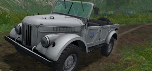 Русская техника для Мод машины ГАЗ-69 V 1.0 для Farming Simulator 2015