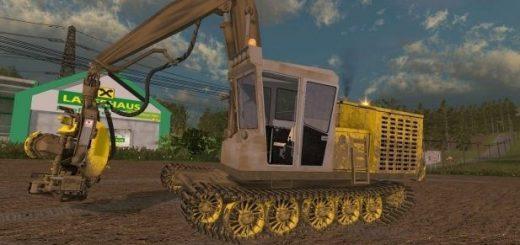 Тракторы для Мод валочно-пакетирующая машина ЛП-19Б3 для Farming Simulator 2015