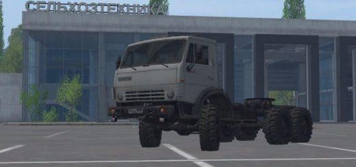 Русская техника для Мод грузовика КамАЗ-4310 v 1.0 для Farming Simulator 2015