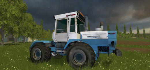 Русская техника для Мод трактор ХТЗ T 200K v 2.0 для Farming Simulator 2015