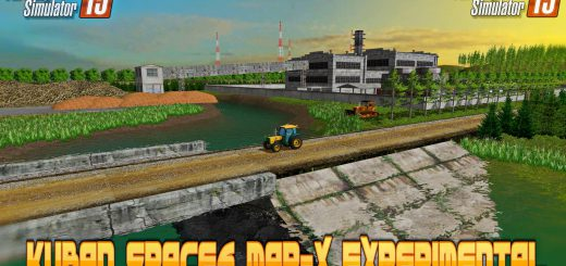 Русские карты для Русская карта «Кубань v 1.0» для Farming Simulator 2015