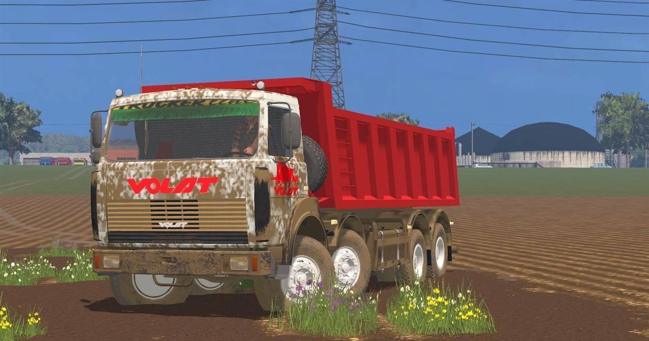 Русская техника для Мод грузовик МАЗ МЗКТ-65152 v 2.0 для Farming Simulator 2015