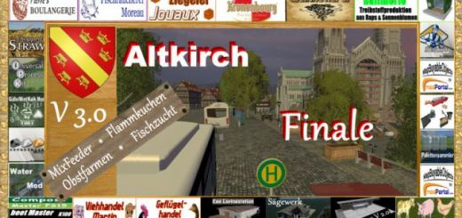 Карты для Карта Altkirch in Alsace v 3.0 для Farming Simulator 2015