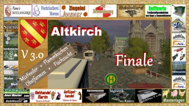 Карты для Карта Altkirch in Alsace v 3.0 для Farming Simulator 2015