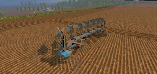 С/Х инвентарь для Мод плуг Lemken Juwel 8 v1.02 для Farming Simulator 2015