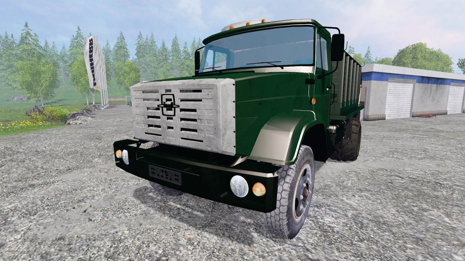 Грузовики для Мод кормораздатчика Зил-45065 v2.0 для Farming Simulator 2015