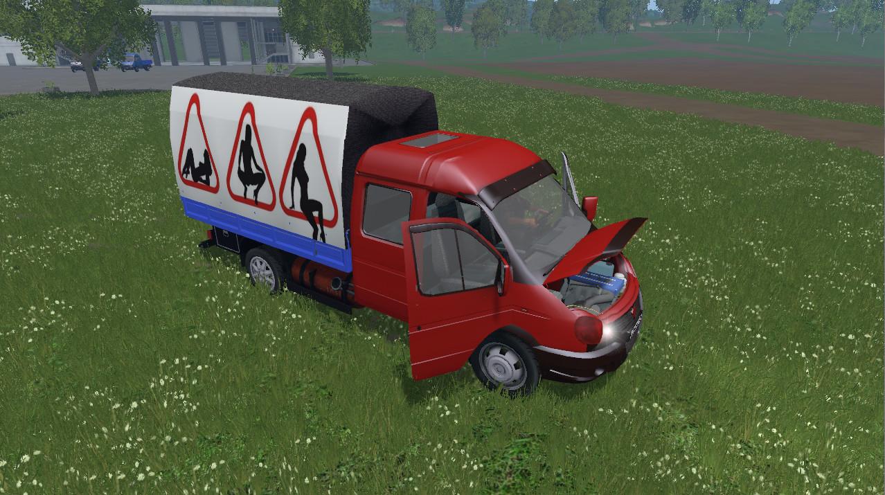 Русская техника для Мод машины «ГАЗель 3310» для Farming Simulator 2015