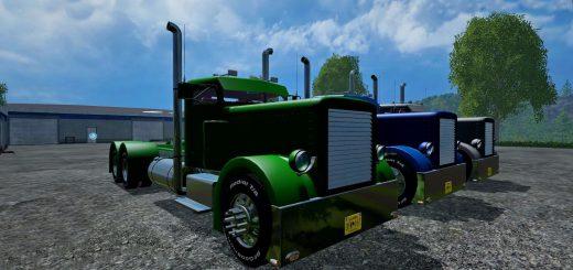 Грузовики для Мод грузовик Peterbilt 359 v1.0 для Farming Simulator 2015