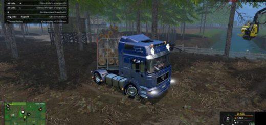 Грузовики для Мод грузовик MAN F2000 19-603 v 1.0 для Farming Simulator 2015