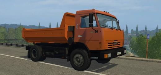 Русская техника для Мод КамАЗ 43255 (самосвал) для Farming Simulator 2015