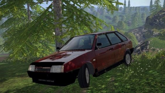 Русская техника для Мод автомобиля Ваз 2109 v 0.8 для Farming Simulator 2015