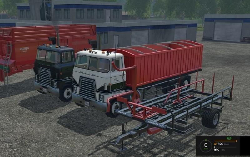 Грузовики для Пак грузовиков «International Transtar II v 1.2» для Farming Simulator 2015