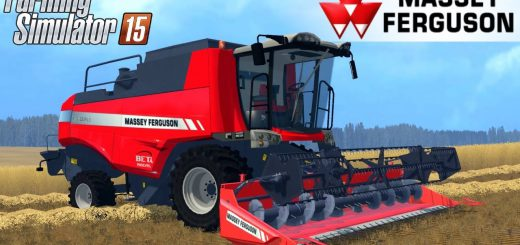 Комбайны для Мод комбайн Massey Ferguson 7360PLI для Farming Simulator 2015