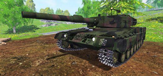 Гусеничный транспорт для Мод танк Leopard 2A4 v1.0 для Farming Simulator 2015