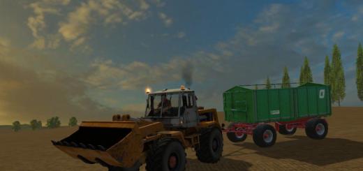 Русская техника для Мод погрузчик Т-156 для Farming Simulator 2015
