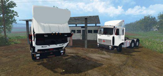 Грузовики для Мод-пак грузовиков МАЗ 5432 и МАЗ 6422 для Farming Simulator 2015