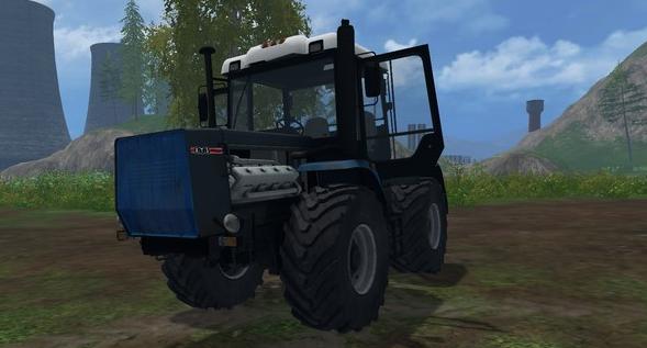 Русская техника для Мод трактор ХТЗ-17221 для Farming Simulator 2015