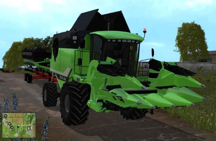 Комбайны для Мод комбайн Deutz Fahr 6095 HTS для Farming Simulator 2015