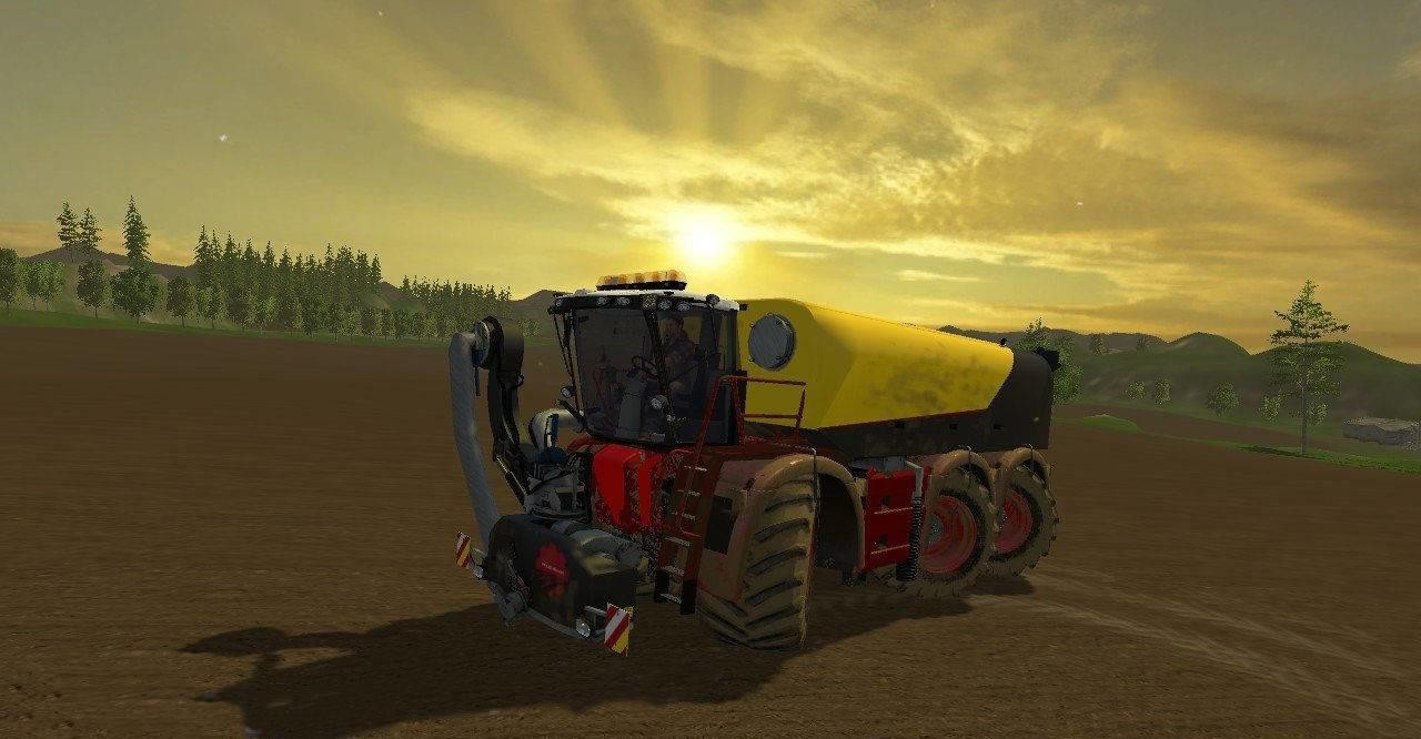 Техника для удобрений для Мод трактор Vredo VT5518 для Farming Simulator 2015