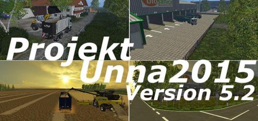 Карты для Карта «Projekt Unna 2015 v 5.4.3 Rus» для Farming Simulator 2015