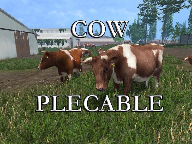 Другие моды для Мод коровы «COW V1.0» для Farming Simulator 2015