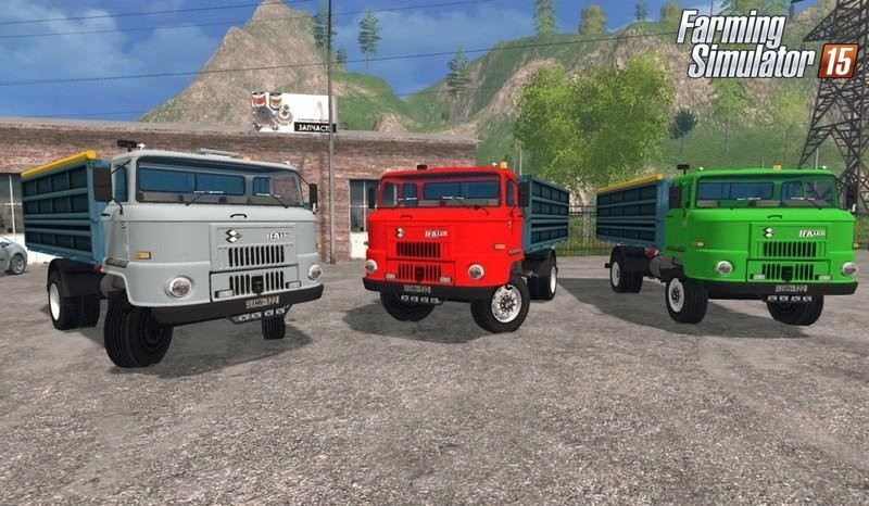 Грузовики для Мод грузовик IFA L 60 для Farming Simulator 2015