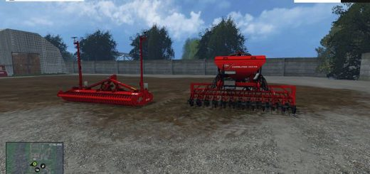 Культиваторы для Мод пак культиватор Kuhn Venta LC402 и сеялка HR 404 v 1.0 для Farming Simulator 2015