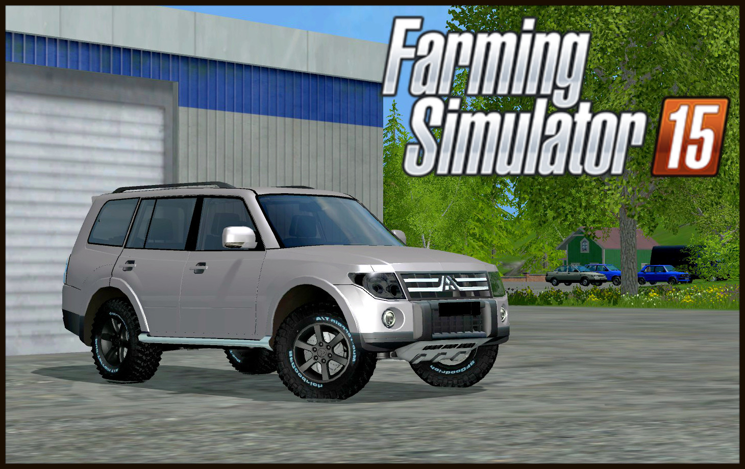 Машины для Мод машины Mitsubishi Pajero Ful для Farming Simulator 2015