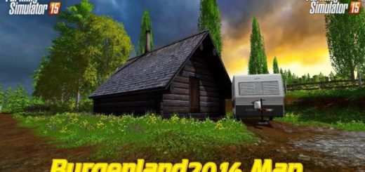 Карты для Карта Burgenland 2016 v 1.7 для Farming Simulator 2015