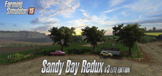 Карты для Карта «Sandy Bay Redux v 3.0 Lite Edition» для Farming Simulator 2015