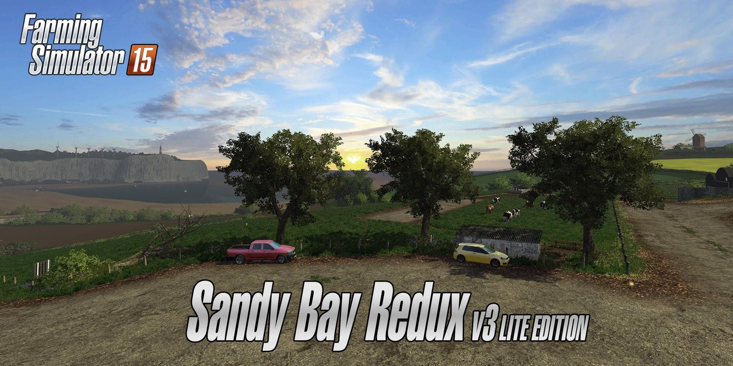 Карты для Карта «Sandy Bay Redux v 3.0 Lite Edition» для Farming Simulator 2015
