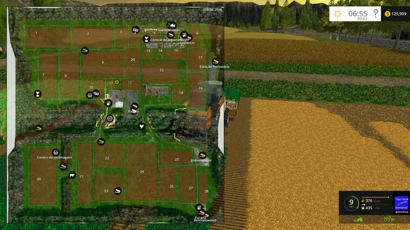 Карты для Карта «Fazenda Pandora v 3.0» для Farming Simulator 2015